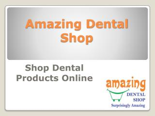 Online Dental Shop