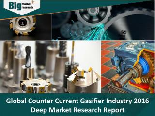 Global Counter Current Gasifier Industry 2016 Deep Market Research Report - Big Market Research