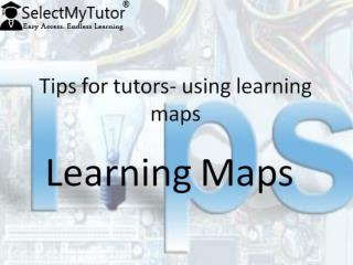 Tips for tutors using learning maps