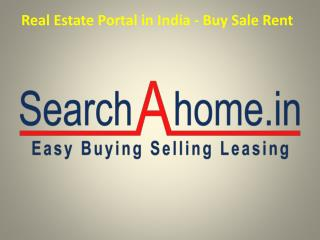 Real Estate Portal in India - Buy Sale Rent