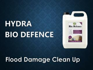 Post Flood Clean up - Hydra Bio Defence