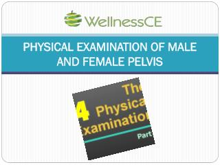 PHYSICAL EXAMINATION OF MALE AND FEMALE PELVIS