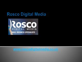 Affordable Small Business Website Design - Roscodigitalmedia.co.uk