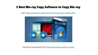 3 best blu ray copy software to copy blu-ray