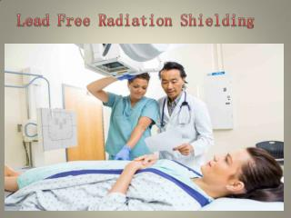 Lead Free Radiation Shielding