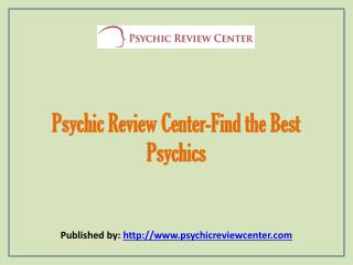 Find The Best Psychics reader