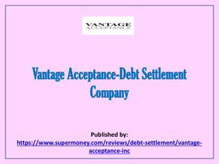 Debt Settlement Company