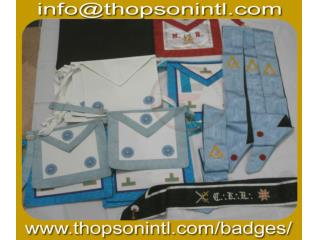 Masonic French regalia aprons