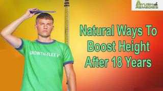 Natural Ways To Boost Height After 18 Years In A Safe Manner