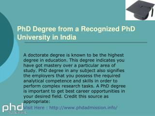 Distance Learning Admission in PhD Education: 91- 7533-00-7534
