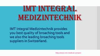 Best Broaching Tools Suppliers in Swiss