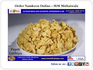 Order Namkeen Online - MM Mithaiwala