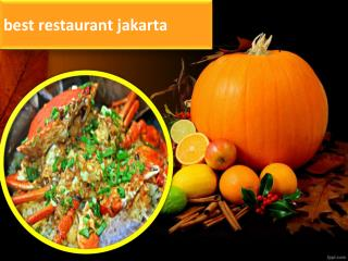 Cheap Seafood Indonesia, Seafood Jakarta