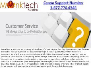 Customer Support For Canon Printer 1-877-776-4348 ~!~!~!~~~!!!