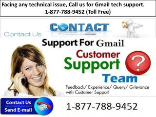 Gmail Customer Support Number (1-877-788-9452)- GOOGLE