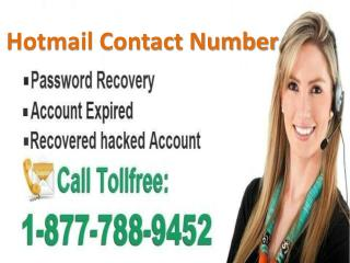 Contact Hotmail for Problems Call Hotmail contact number 1-877-788-9452 tollfree