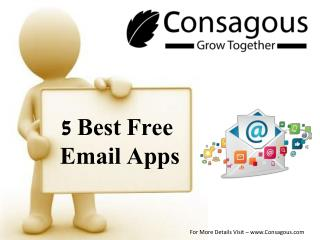 5 Best Free Email Apps for Android & iOS