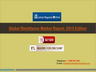 Remittance Industry Global Market Research Report