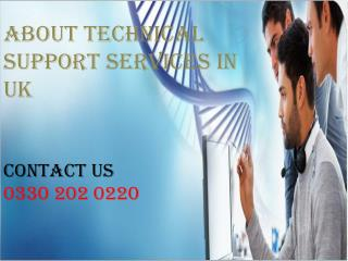 About Technical Support Services In UK