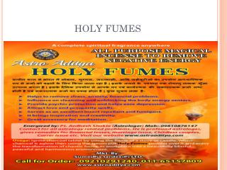 buy Holy fumes