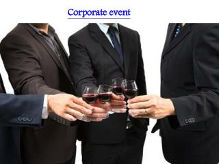 venues for corporate event, event planning and management