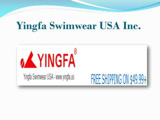 Men Competition Swimwear |Yingfa swimwear USA Inc.