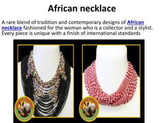 African necklace, Beaded animals , Ostrich handbags