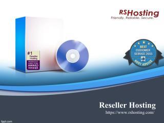 Reseller Hosting - RS Hosting