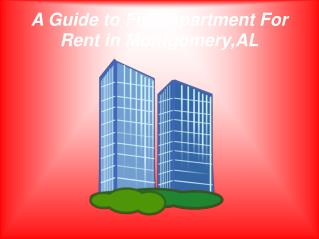 How to Choose Best Apartments For Rent in Montgomery, AL