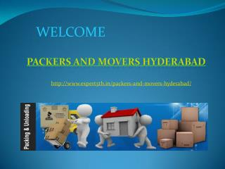 Movers and Packers Hyderabad @ http://www.expert5th.in/packers-and-movers-hyderabad/