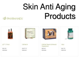 Skin Anti Aging Products