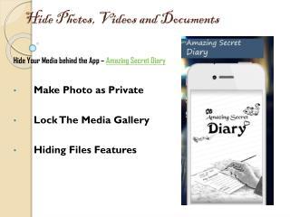 Amazing Secret diary