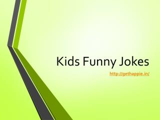 Kids Funny Jokes