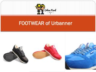 FOOTWEAR of Urbanner