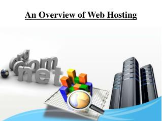 An Overview of Web Hosting