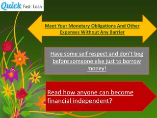 Fast Installment No Credit Loans: Am I Going To Get Fiscal Relief Of It?