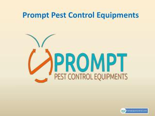 Prompt Pest Control Equipments Provide Different Types of Rodent Repellent System