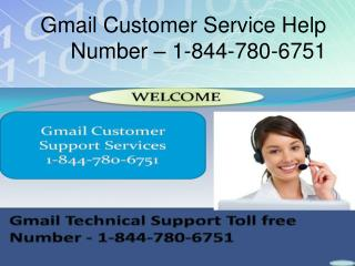 1-844-780-6751 @@ Gmail Technical Support Phone Number