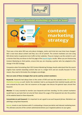 SEO Content Marketing Strategy