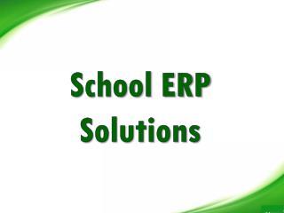 School ERP Solutions