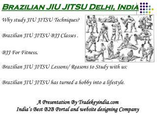 Brazilian jiu jitsu classes training coaching in Delhi India