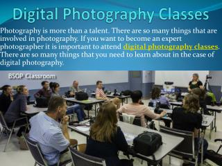 Digital Photography Classes, Photography Programs, Photography Career