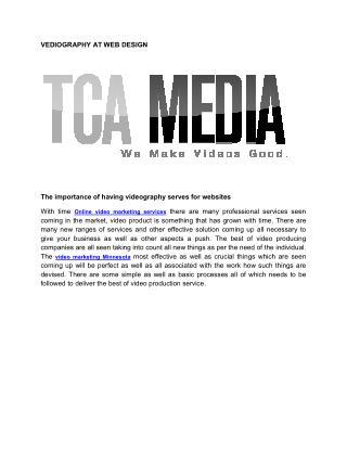 online video marketing service