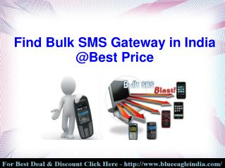 How to Find Bulk SMS Gateway in India?
