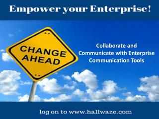 Enterprise Communication Tools, Enterprise Social Collaboration Platform