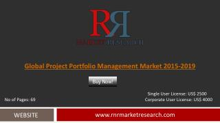 Project Portfolio Management Market 2019 Outlook in New Research Report