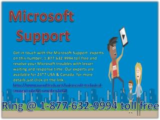 Microsoft Support %&&% 1-877-632-9994 Toll free Number