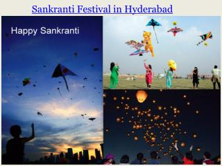 Sankranti Festival in Hyderabad