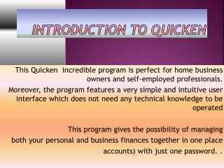 1-855-806-6643 Quicken Technical  Support