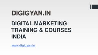 Digital Marketing Courses And Training - Digigyan.in